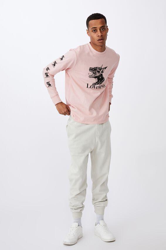 Tbar Long Sleeve T-Shirt, PARADISE PINK/LOVELESS