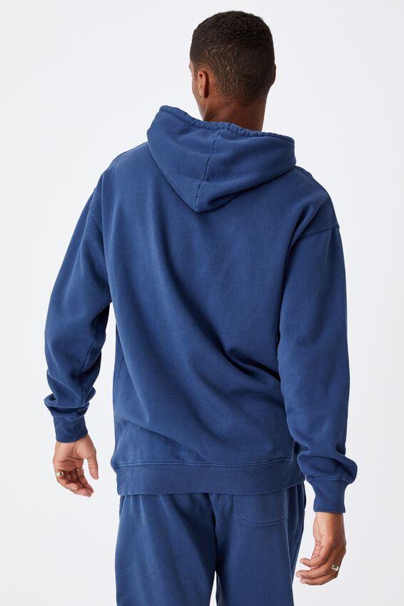 Premium Collab Fleece Pullover, LCN UCLA INDIGO/UCLA VINTAGE SCREST