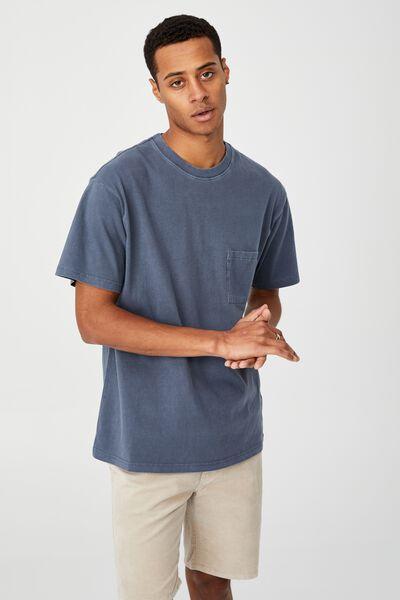Loose Fit T-Shirt, DUSTY DENIM