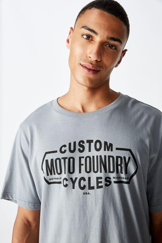Tbar Moto T-Shirt, SK8 CITADEL/MOTO FOUNDRY