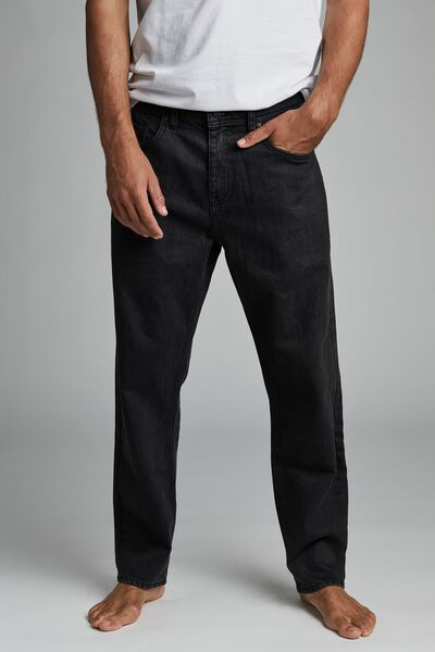 Beckley Straight Jean, VINTAGE BLACK