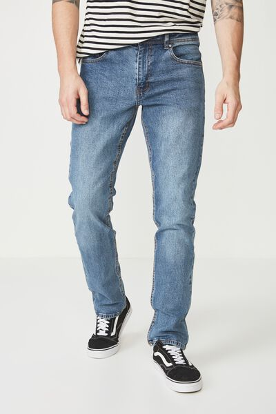 Slim Fit Jean, BLUE CRUSH