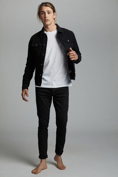 Rodeo Jacket, BLACK CANVAS