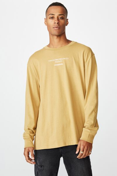 Tbar Long Sleeve, CAMEL/UNKNOWN JAPAN
