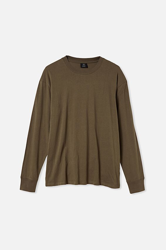 Tbar Long Sleeve T-Shirt, MILITARY