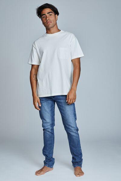 Slim Fit Jean, HARBOUR BLUE