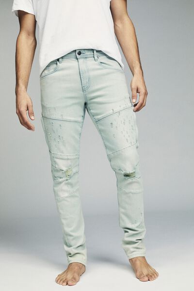 Slim Fit Jean, TINT OUT BLUE UTILITY