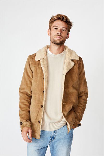 Ranch Jacket, TAN CORD