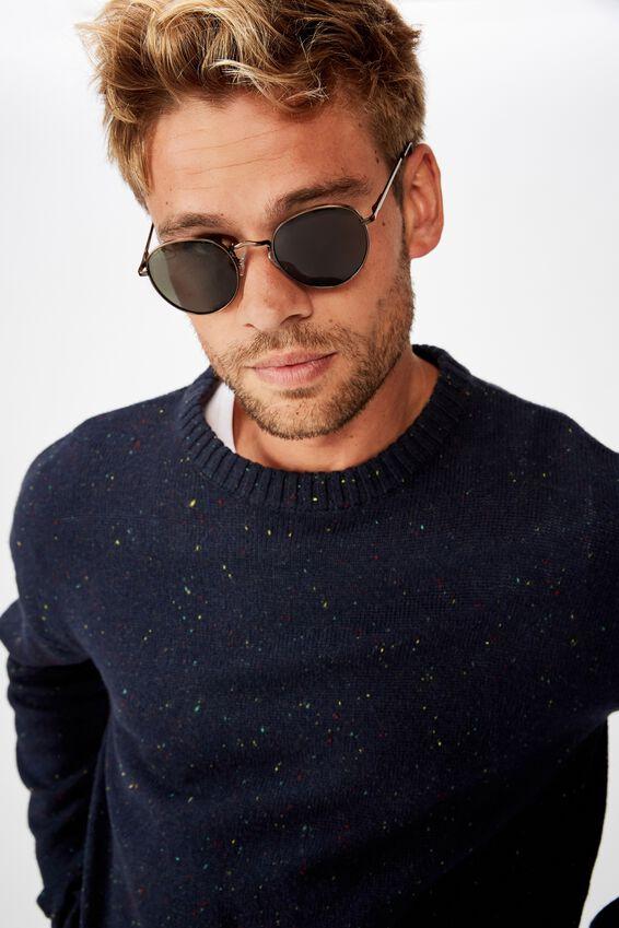 Bellbrae Sunglasses, COPPER SHINY BLACK GREEN