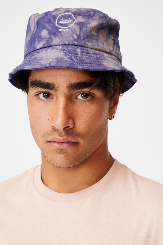 Special Edition Bucket Hat, LCN IRV IRVINS/PINK TIE DYE