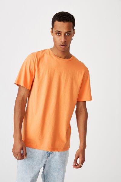 Essential Crew T-Shirt, RAVE ORANGE