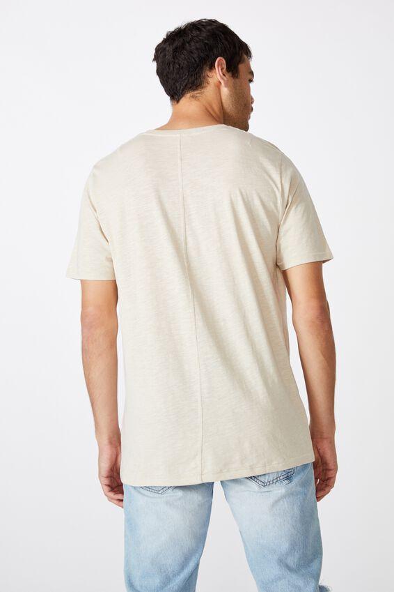 Slub Crew T-Shirt, PEARL