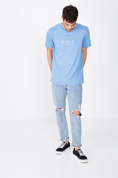 Tbar Urban T-Shirt, RIVIERA BLUE/NY/LA/JP