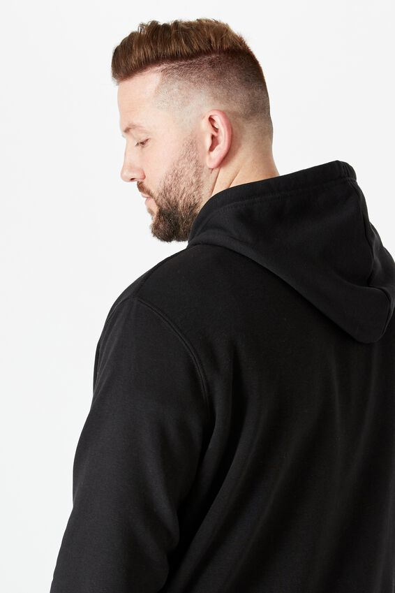 Bg Essential Fleece Pullover, BLACK