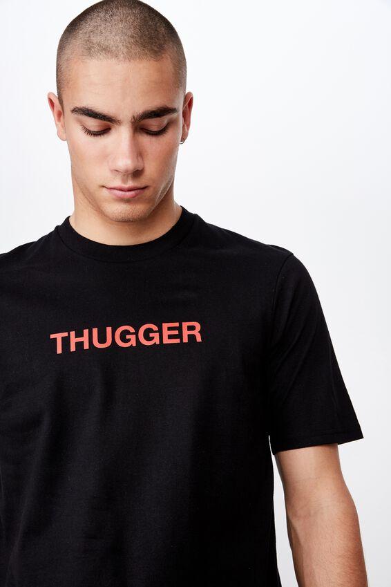 Tbar Collab Music T-Shirt, LCN MT SK8 BLACK/YOUNG THUG - STATUE