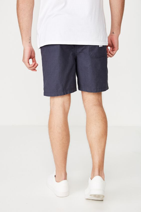 Easy Short, NAVY/TEXTURE
