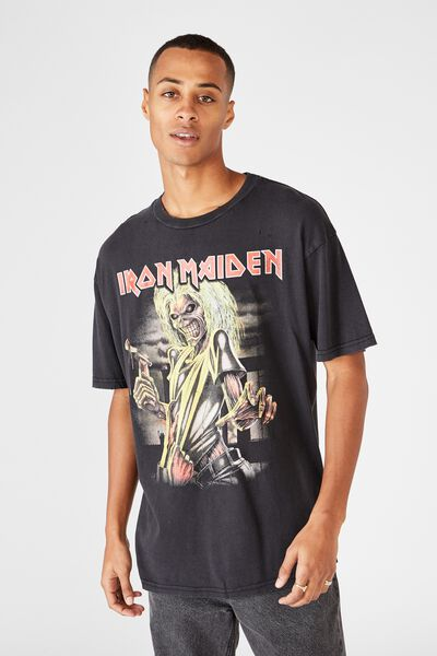 Special Edition Tee, LCN IM BLACK/IRON MAIDEN - KILLERS