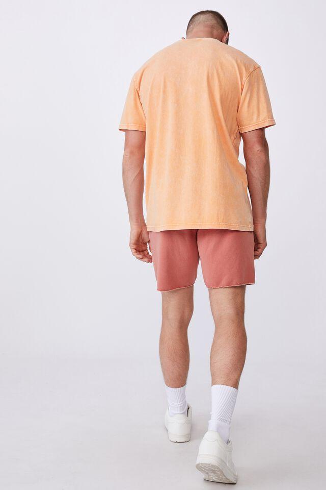 Pigment Fleece Short, PIGMENT PEACH SPLASH