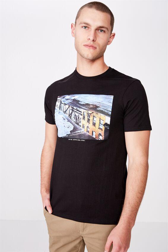 Tbar Photo T-Shirt, BLACK/NEW YORK REFLECTION