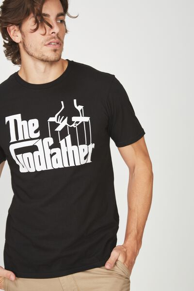 Tbar Collaboration Tee, LC BLACK/THE GODFATHER