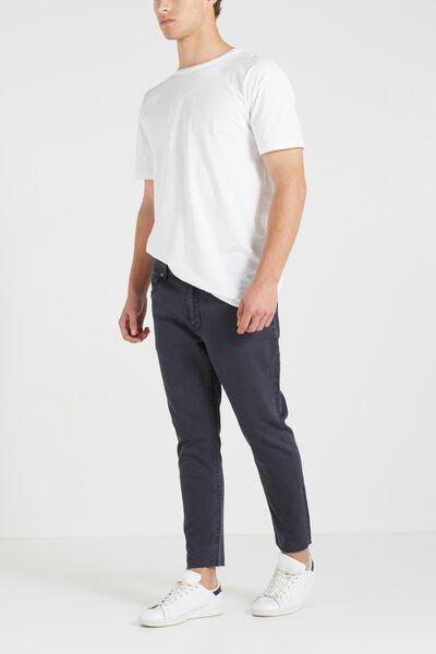 Tapered Leg Jean, STORMER GREY GRAZER