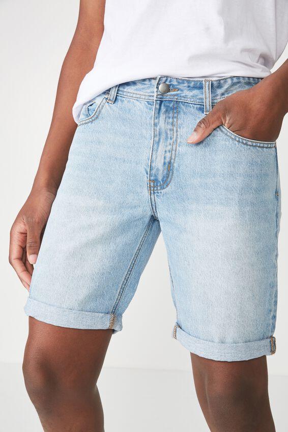 Roller Short, RIGID STONE BLUE