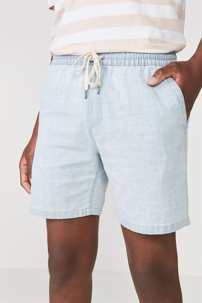 Easy Short, ICE BLUE/CHAMBRE