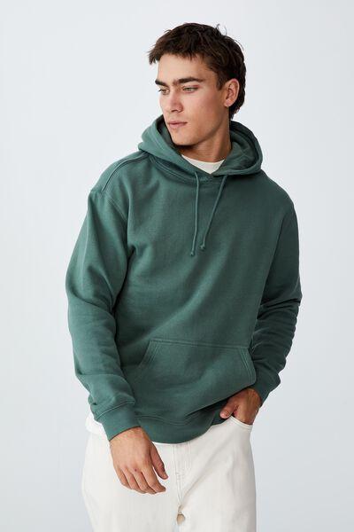 Essential Fleece Pullover, FOREST