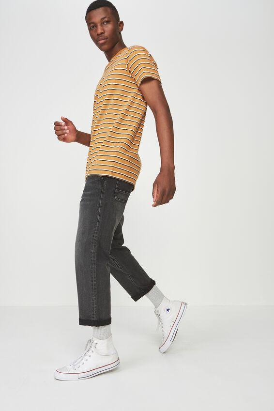Drake Roller Pant, BLACK WASHED DENIM