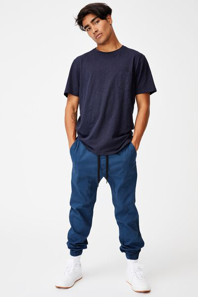 Drake Cuffed Pant, WASHED NAVY