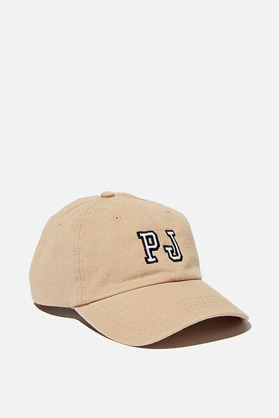 Initials Dad Hat Personalised, TAN