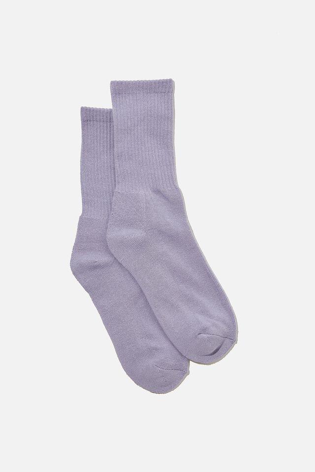 Essential Active Sock, DEEP PURPLE