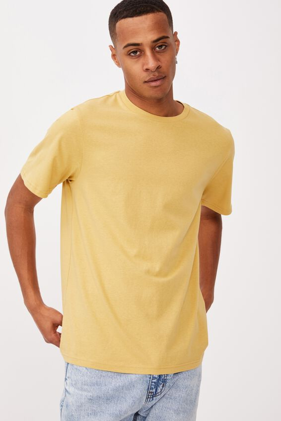 Essential Crew T-Shirt, FROSTED HONEY
