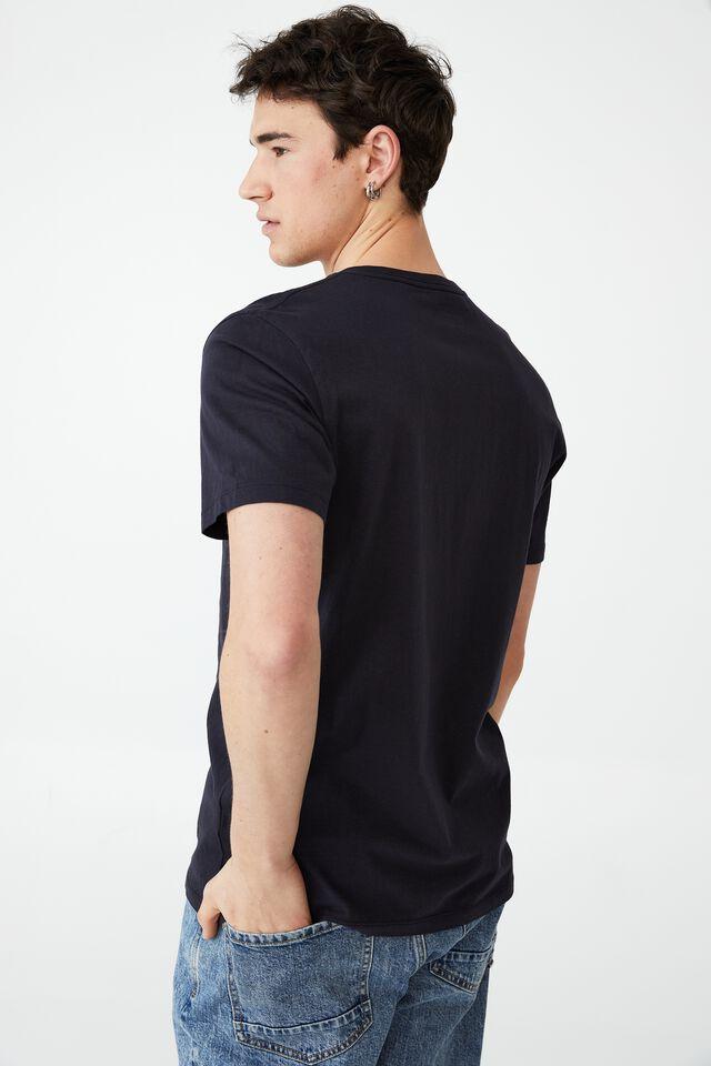 Organic Henley T-Shirt, INK NAVY