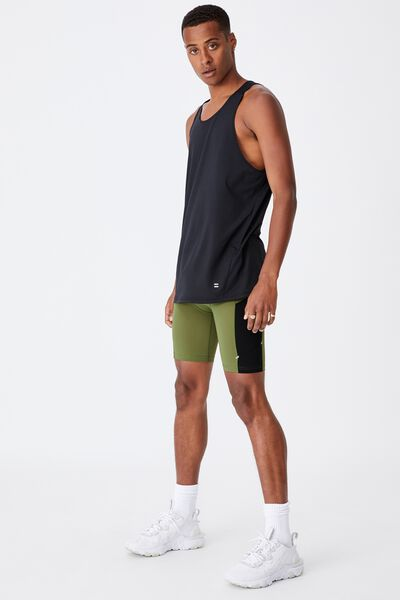 Active Flex Short, GRASS GREEN/BLACK