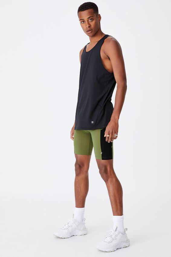 Active Flex Short, GRASS GREEN/BLACK