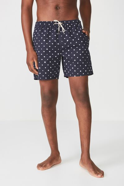 Hoff Short, NAVY / PAINTED DIAMOND