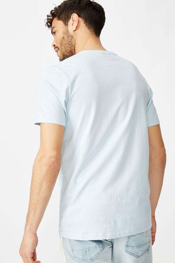 Tbar Text T-Shirt, BLUE MIST/ALTERED STATES WORLDWIDE