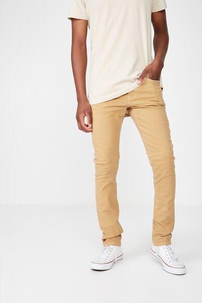 Slim Fit Jean, DUST STONE