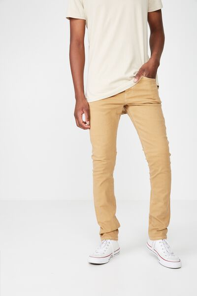 Slim Fit Jean, DUST STONE
