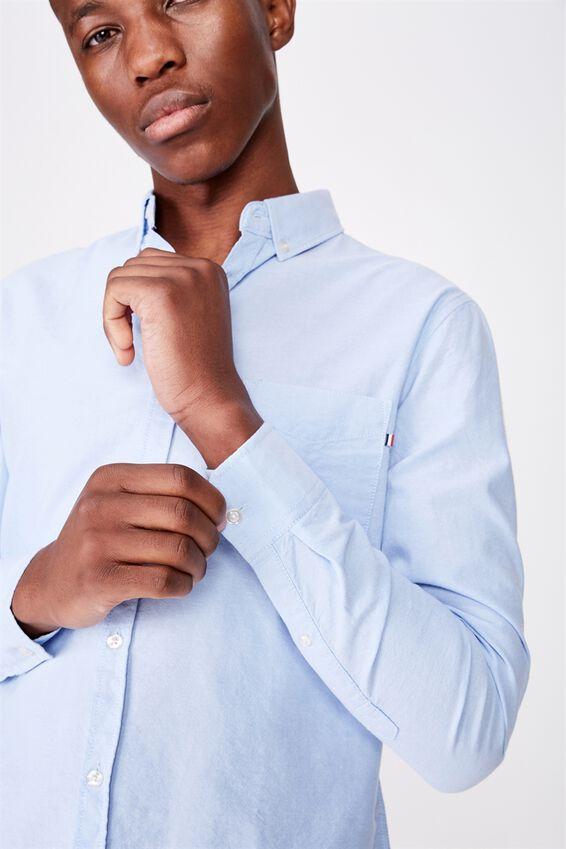 Brunswick Shirt 3, SKY BLUE OXFORD