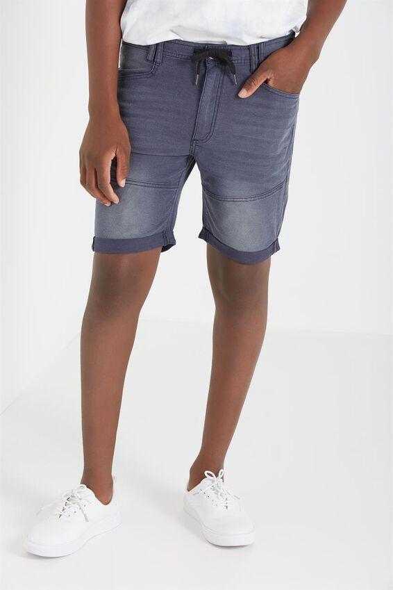 Skinny Straight Short, VIBE BLUE