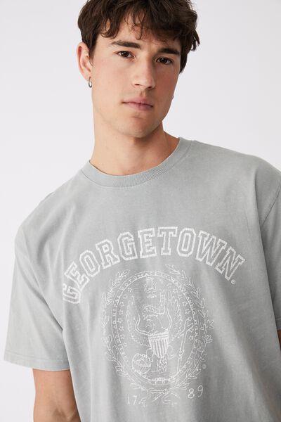 Special Edition T-Shirt, LCN GEO BLUE HAZE/GEORGETOWN - VINTAGE SEAL