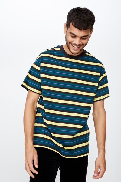 Dylan Tee, DEEP SEA/CREAM GOLD/BLUE DELIGHT/WASHED BLACK STRI