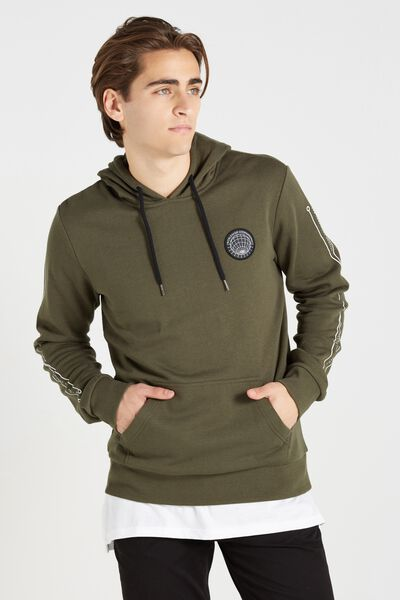 Fleece Pullover 2, FOREST NIGHT/ATOMICA