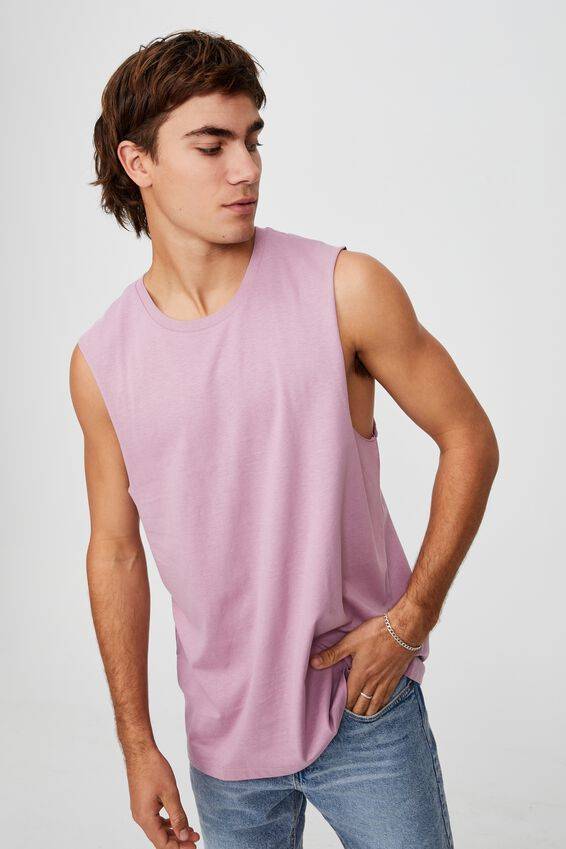 Essential Muscle, WASHED PURPLE