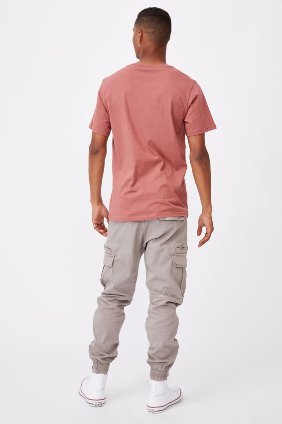 Tbar Cny T-Shirt, OX BLOOD/RAMEN BULL