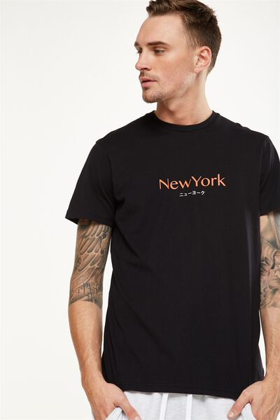 Tbar Tee 2, BLACK/NEW YORK TRANSLATE