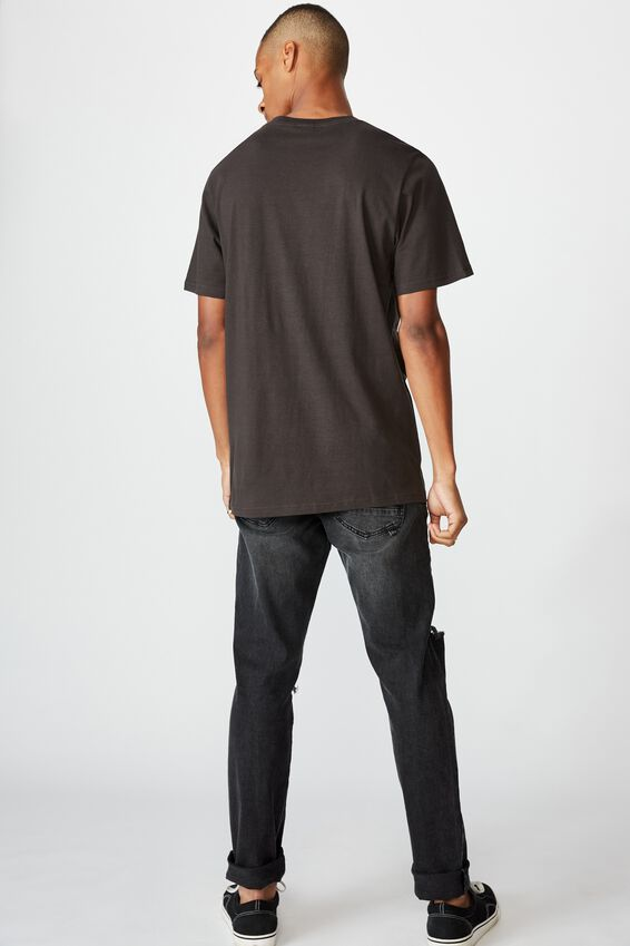 Tbar Photo T-Shirt, WASHED BLACK/LEAF