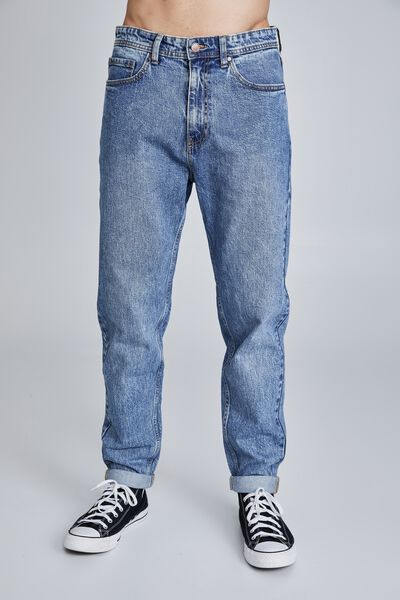 Relaxed Tapered Jean, OLD INDIGO